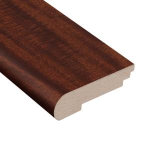 Matte Brazilian Oak 3/8 in. Thick x 3-1/2 in. Wide x 78 in. Length Stair Nose Molding