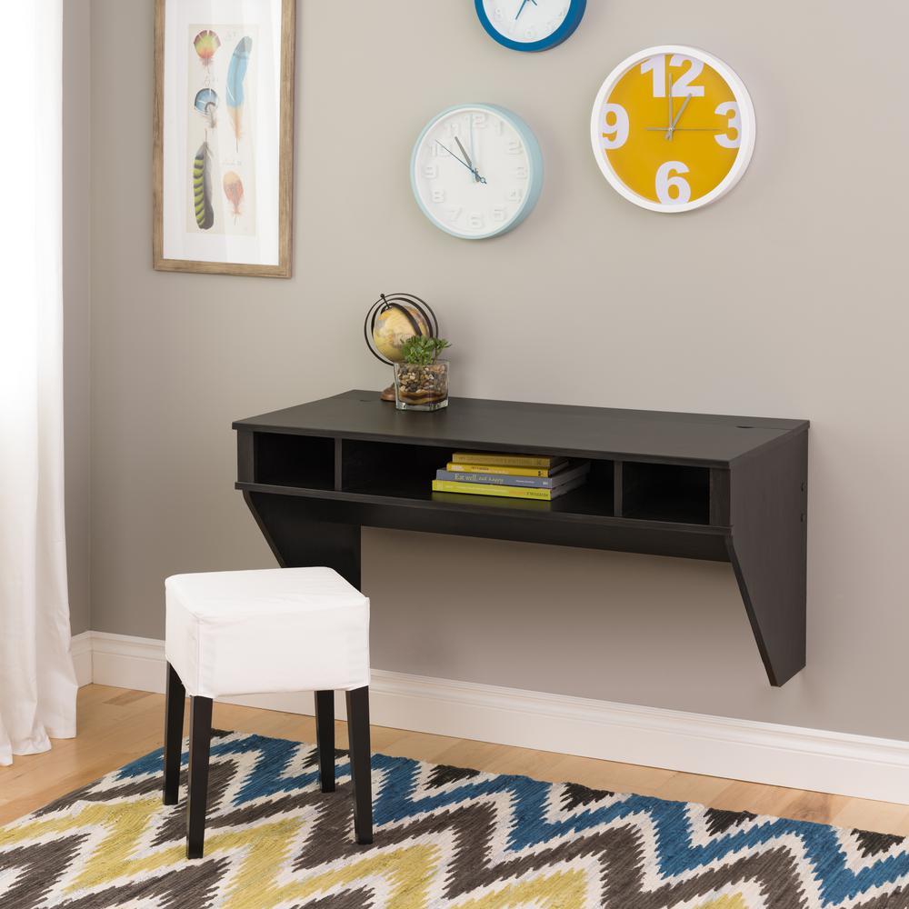 Prepac Ebony Storage Desk