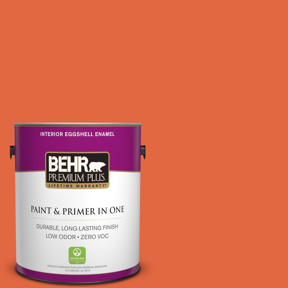 BEHR Premium Plus 1-gal. #P190-6 Emergency Zone Eggshell Enamel Interior Paint