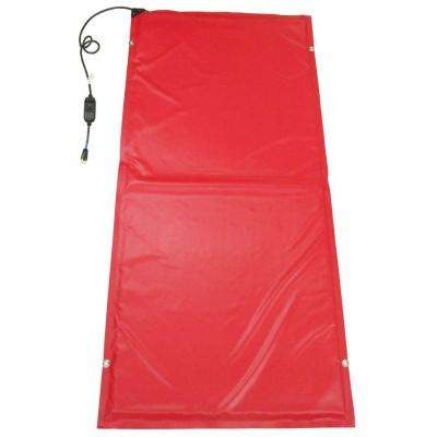15 ft. x 3 ft. Heated Concrete Curing Blanket