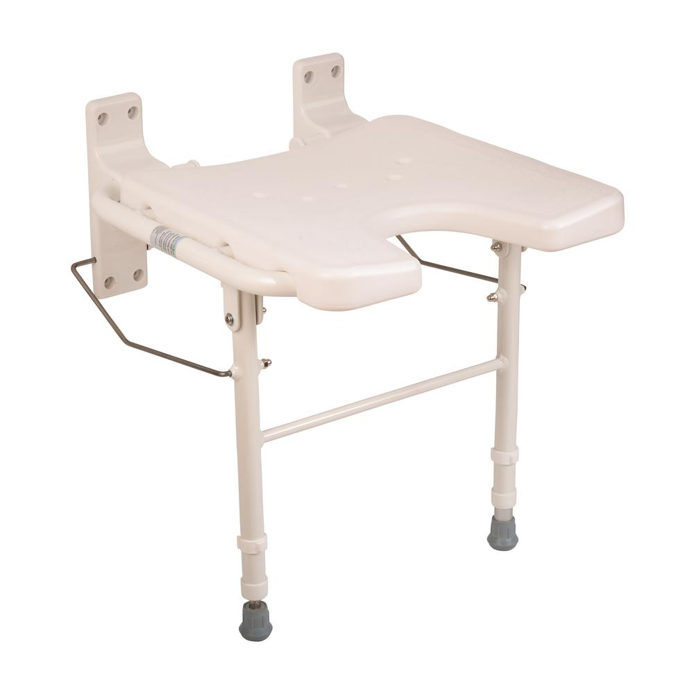 HealthSmart Foldaway Bath Seat-522-3700-1900 - The Home Depot
