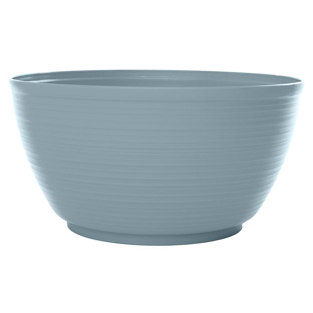 Bloem 15 in. Meltwater Dura Cotta Plastic Plant Bowl (6-Pack)