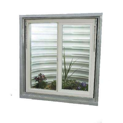 30.75 in. x 36.375 in. Egress Left-Hand Sliding Vinyl Replacement Window - White