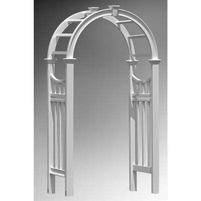 The Vienna 42 in. x 86 in. Vinyl Arbor