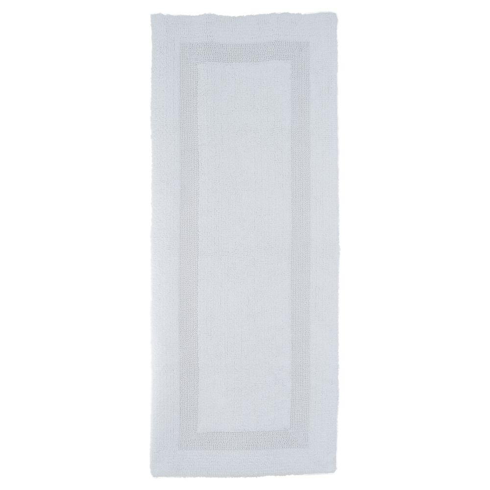 Lavish Home White 2 Ft X 5 Ft Cotton Reversible Extra