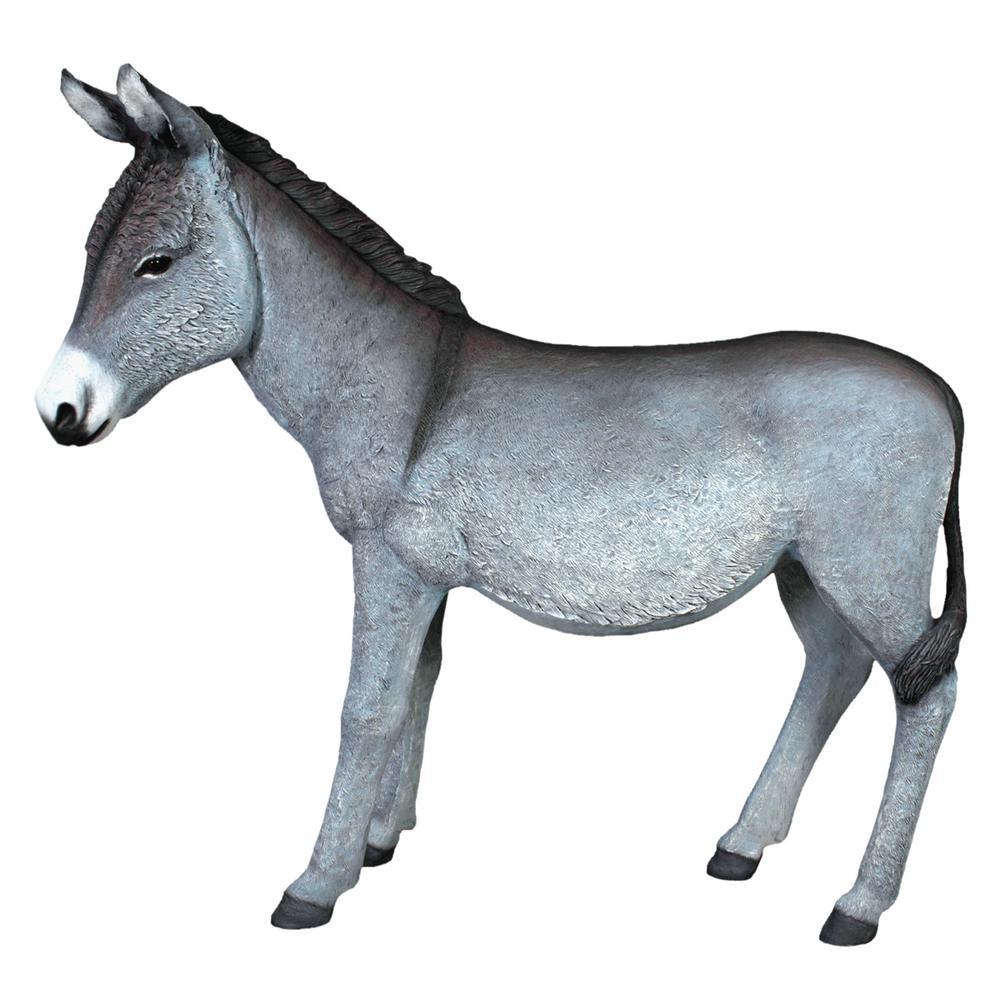 49 in. H Beast of Burden Donkey Statue