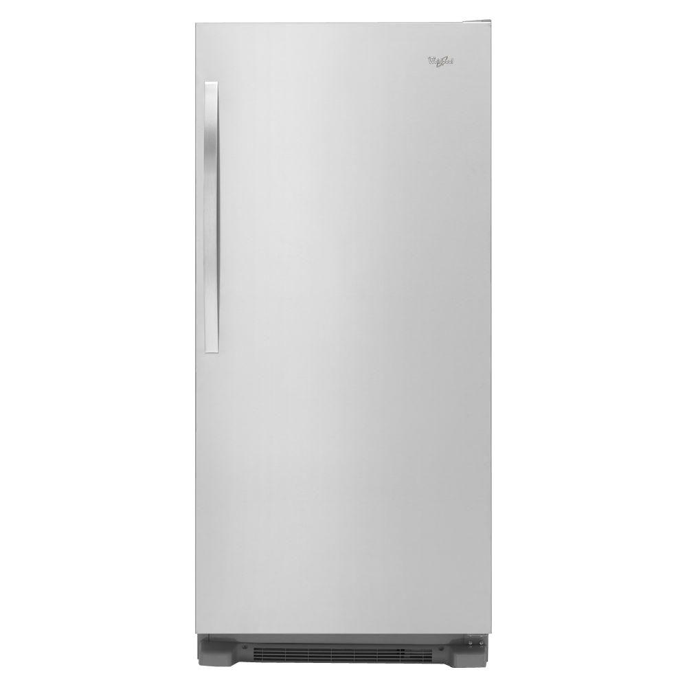 monochromatic stainless steel whirlpool freezerless refrigerators wsr57r18dm 64_1000 whirlpool 31 in w 17 7 cu ft sidekicks freezerless refrigerator  at eliteediting.co