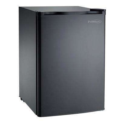 2.6 cu. ft. Mini Fridge in Black