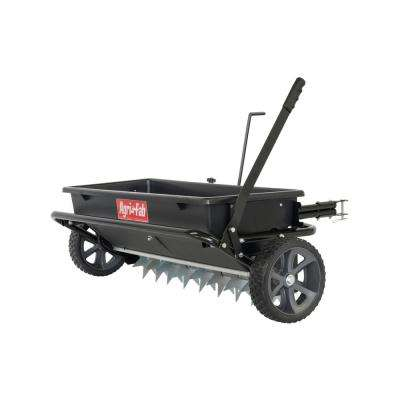 100 lbs. 32 in. Spiker Seeder Drop Spreader