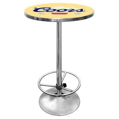 Coors Chrome Pub/Bar Table