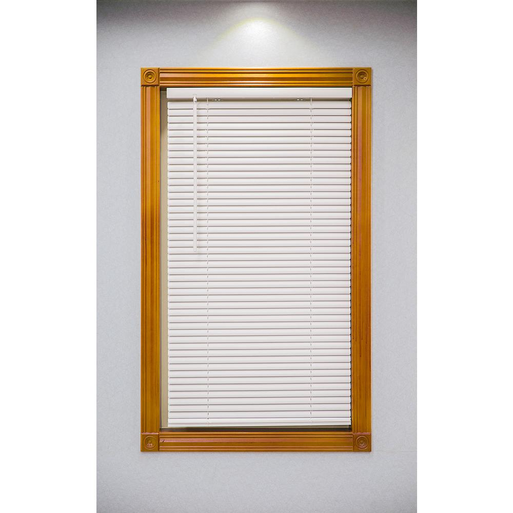 vinyl mini blinds achim alabaster cordless 1 in vinyl deluxe sundown room 29411