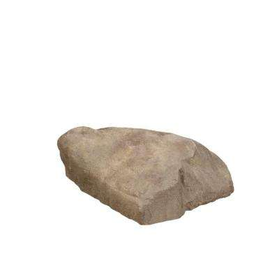 31.5 in. x 23.5 in. x 1.5 in. Tan Long Landscape Rock