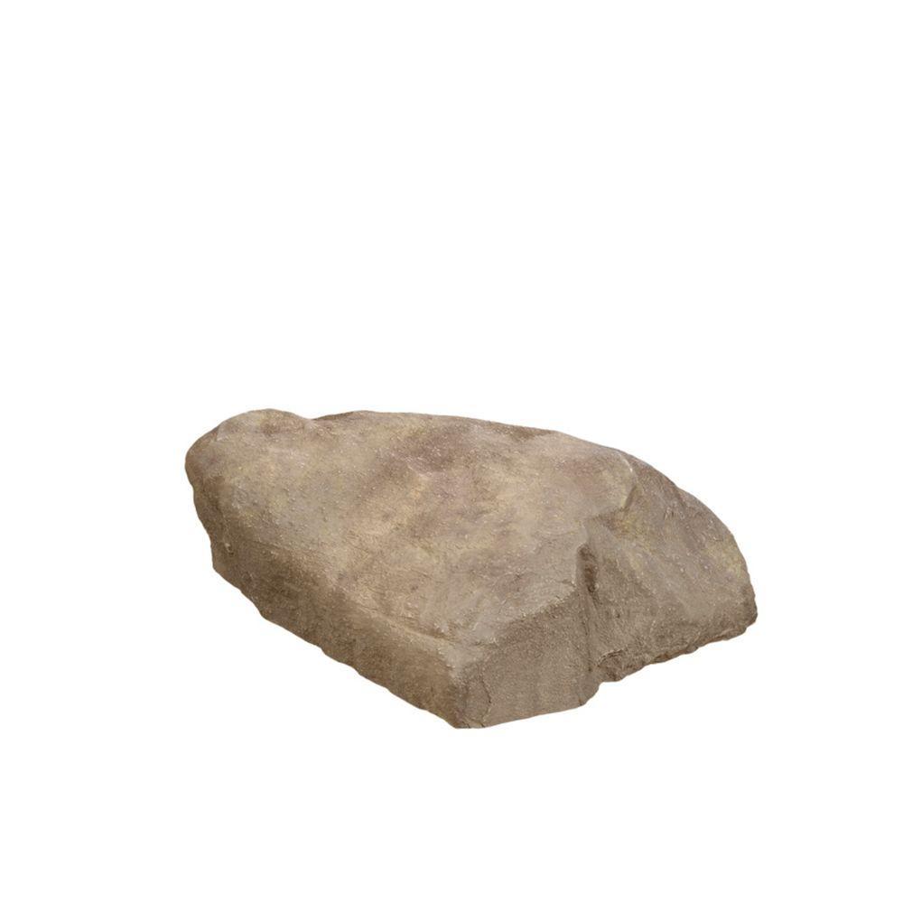 31.5 in. x 23.5 in. x 1.5 in. Tan Long Landscape Rock