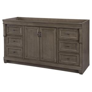 Home Decorators Collection Naples 60 inch W Bath Vanity Cabinet Only in Distressed Grey... by Home Decorators Collection