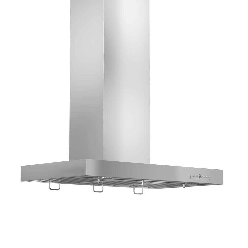 Zline Kitchen And Bath 42 In 760 Cfm Wall Mount Range Hood Stainless