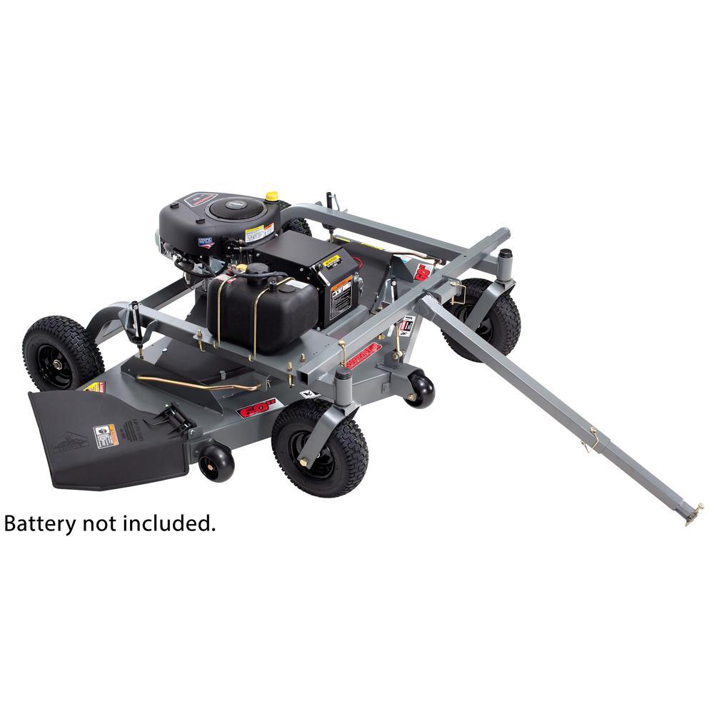 60 in. 14.5 HP 12-Volt Briggs & Stratton Gas Finish-Cut Trail Mower - California Compliant