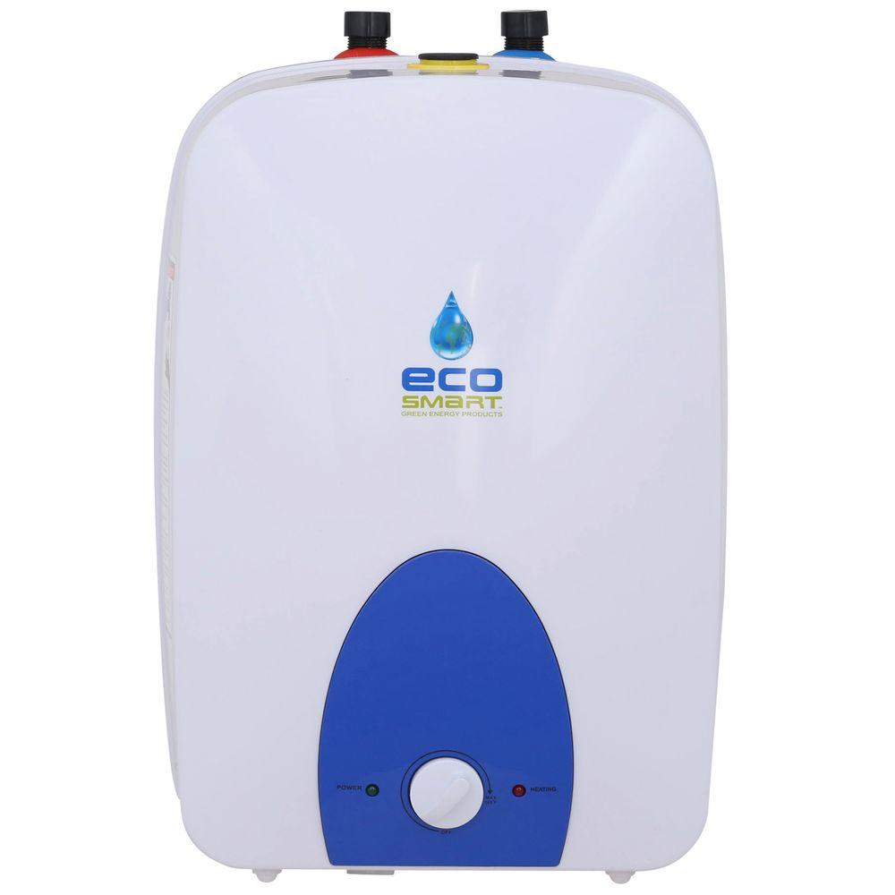 EcoSmart 6 gal. 1 Year 120-Volt Electric Mini Tank Point of Use Water Heater