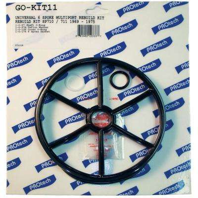 Universal 6 Spoke Multiport Rebuild Kit