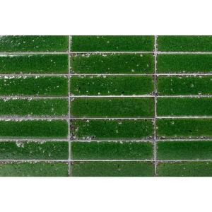 Ivy Hill Tile Magma Stone Green Brick 3 In X 12 In 19mm