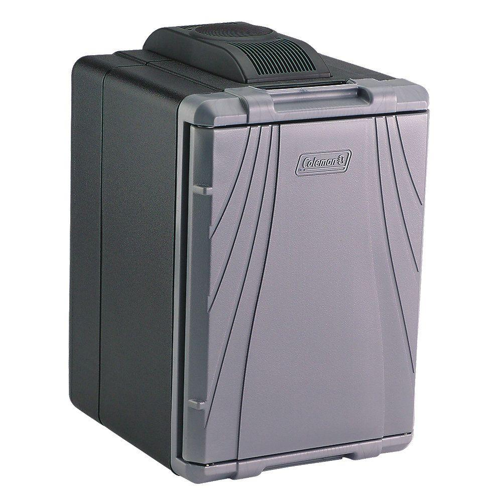 Coleman 40 Qt. Hot/Cold Thermoelectric Cooler, Grays