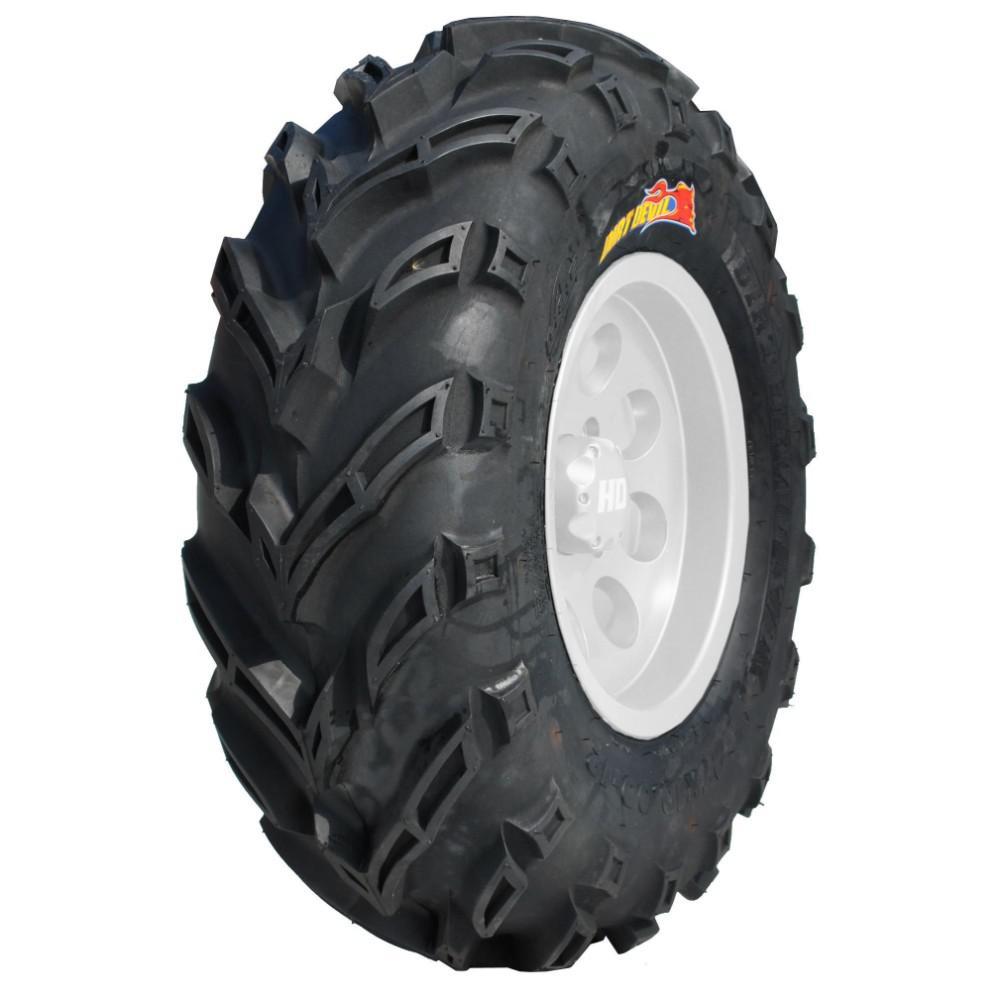 "ATV TIRES 25/"" GBC DIRT DEVIL 2-25X8-12 /& 2-25X10-12 SET 4 CLAW MUD LITE BEAR"