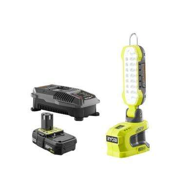 18-Volt ONE+ Lithium-Ion Hybrid LED Project Light with ONE+ 2.0 Ah Battery and 18-Volt Charger
