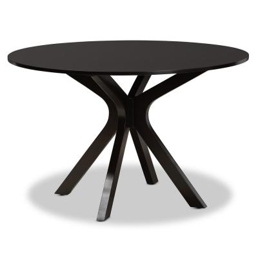 Kenji Dark Brown 48-in. Dining Table
