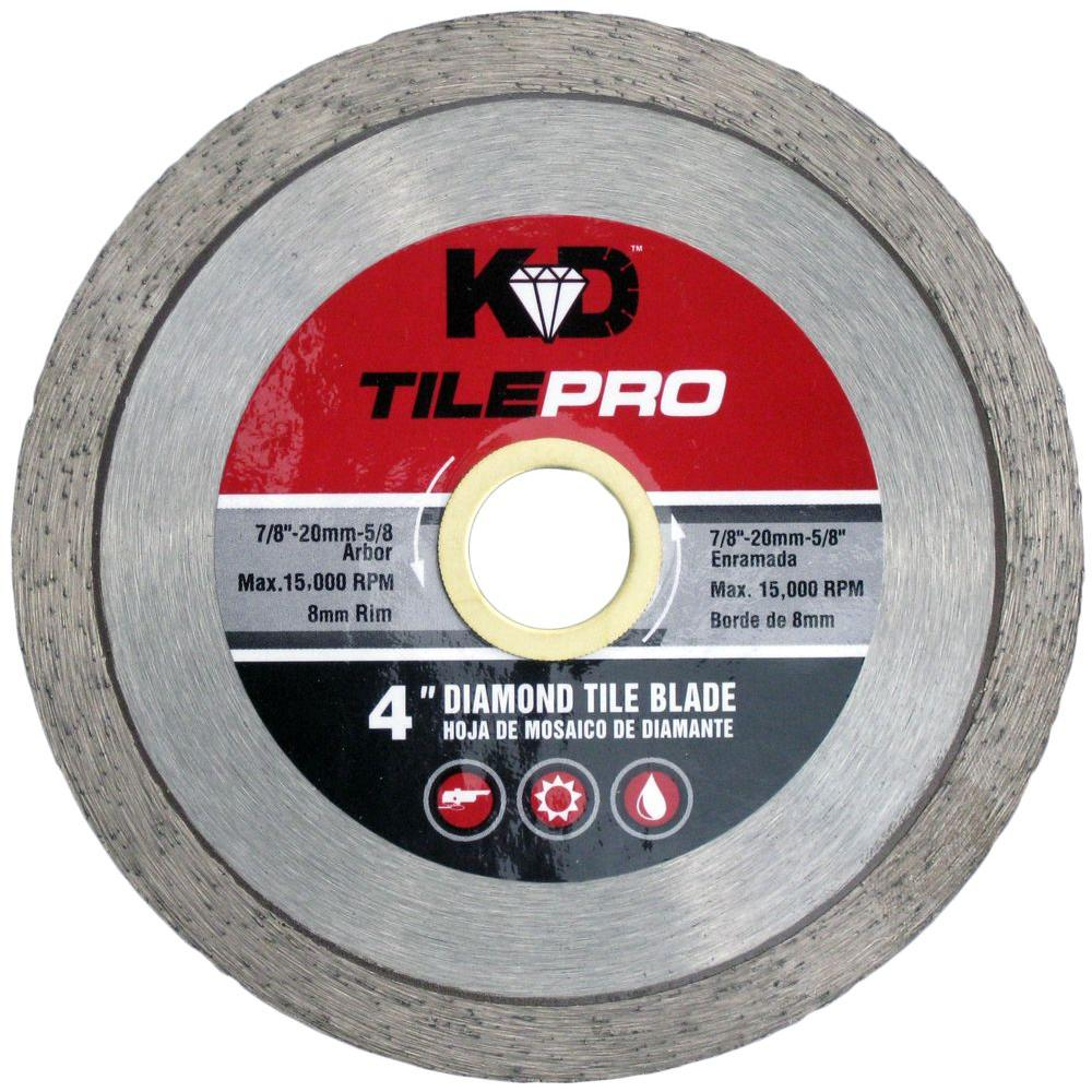 KING DIAMOND 4 in. Diamond Continuous-Rim Circular Saw Blade