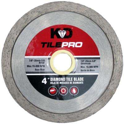 4 in. Diamond Continuous-Rim Circular Saw Blade
