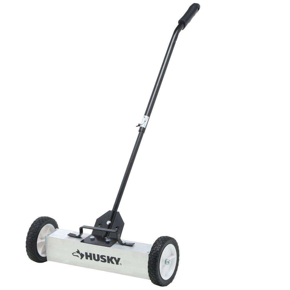 Husky 18 in. Magnetic Sweeper Pickup Tool