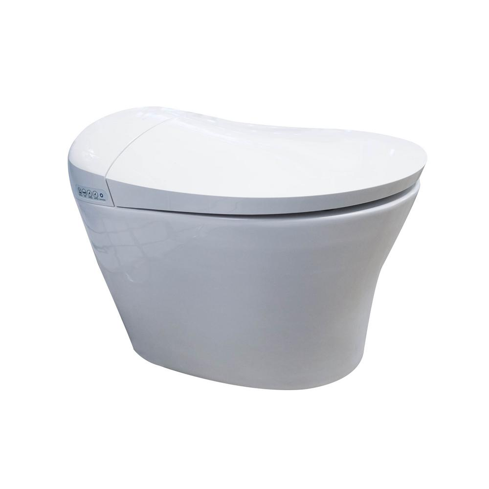 Arial Smart 1-Piece 1.8 GPF Single Flush Elongated Toilet and Bidet