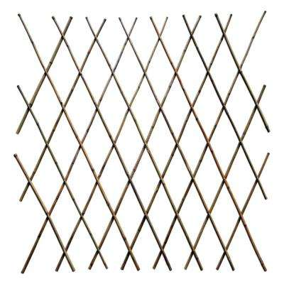 48 in. H Expandable Bamboo Poles Trellis