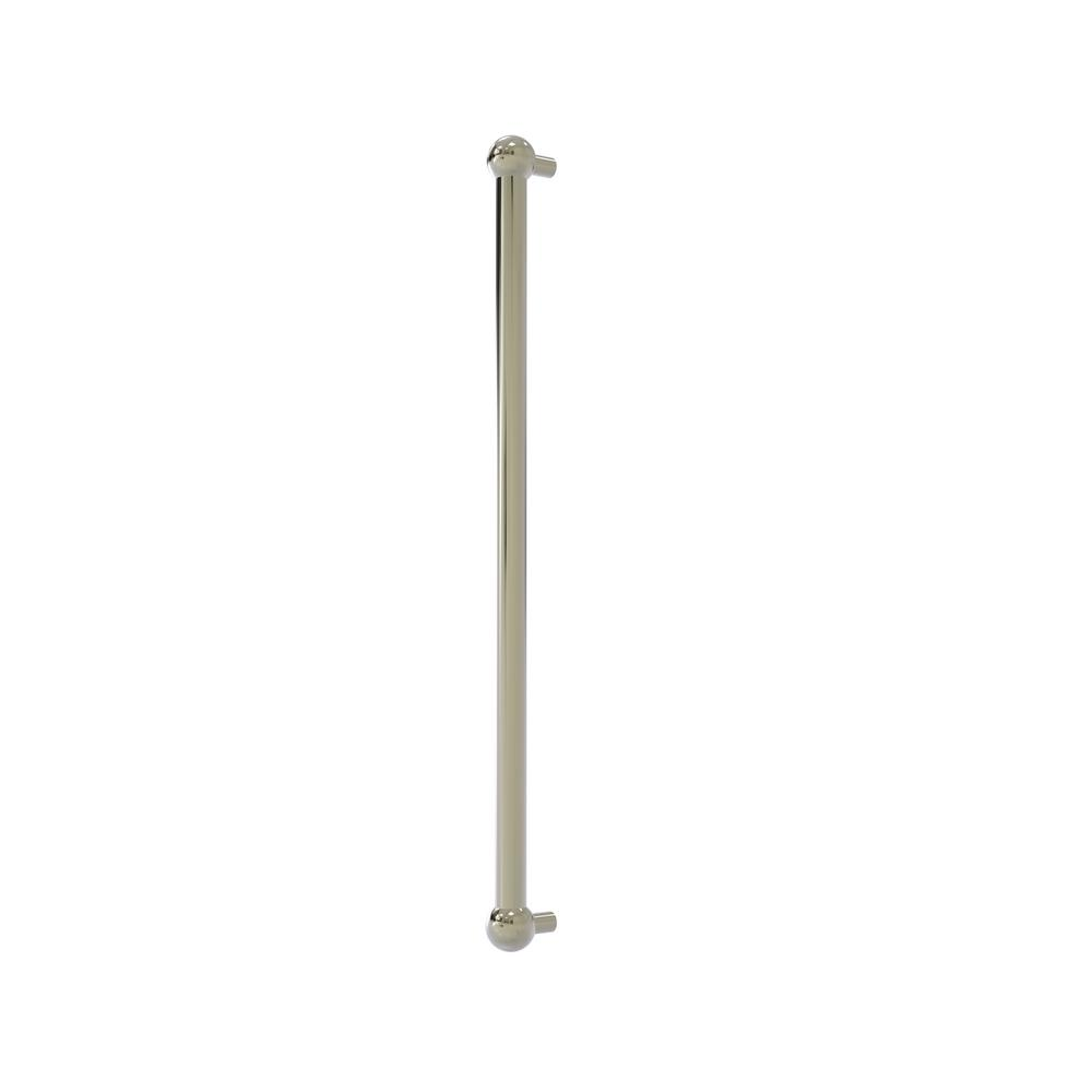 Allied Brass 18 in. Center-to-Center Refrigerator Pull in Polished Nickel Transform your kitchen with this elegant Refrigerator and Appliance Pull. This pull is designed for replacing the pulls or handles on your built-in refrigerator, freezer or any other built in appliance. Appliance pull is made of solid brass and provided with a lifetime finish to insure products will provide a lifetime of service.