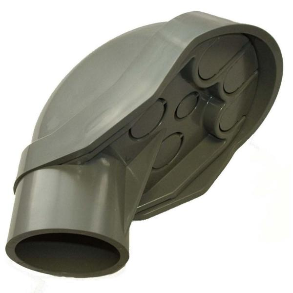 2 in. PVC Service Entrance Cap (Case of 5)