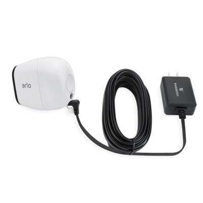 Weatherproof Outdoor Quick Charge 3.0 Power Adapter for Arlo PRO and Arlo GO, Black