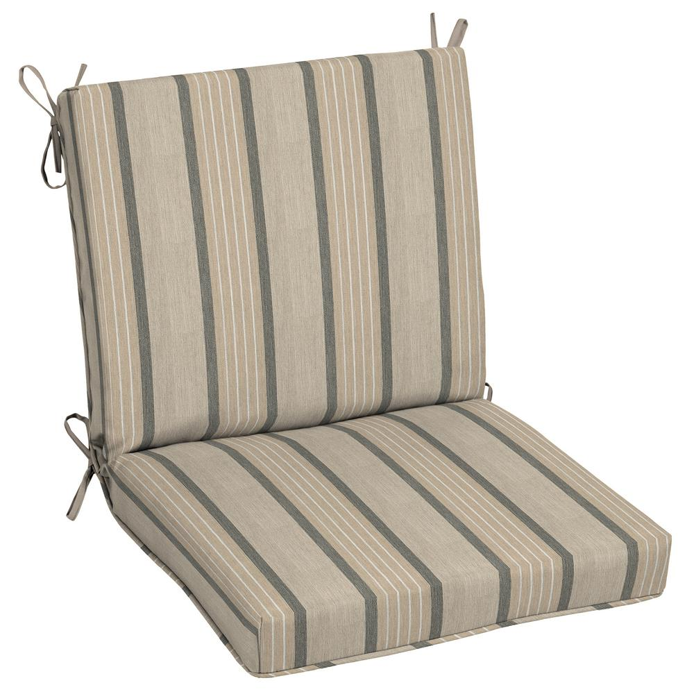 home decorators collection garden side chair home decorators collection sunbrella cove pebble outdoor 13448