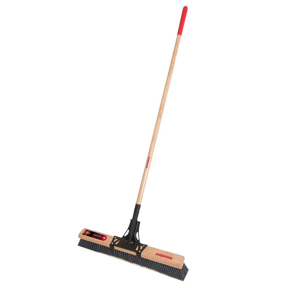 Razor-Back 24 in. Smooth Push Broom
