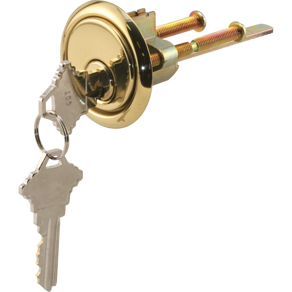 Prime Line Rim Cylinder Lock With Trim Ring 5 Pin Lock