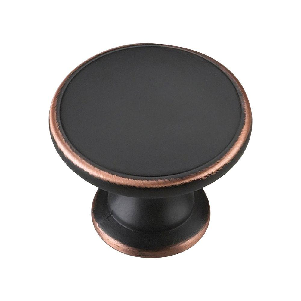 1-3/4 in. Brushed Oil-Rubbed Bronze Cabinet Knob
