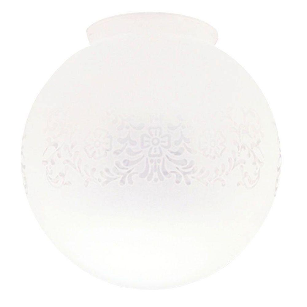 Westinghouse 7-1/2 in. Handblown Frosted Victorian Glass ...