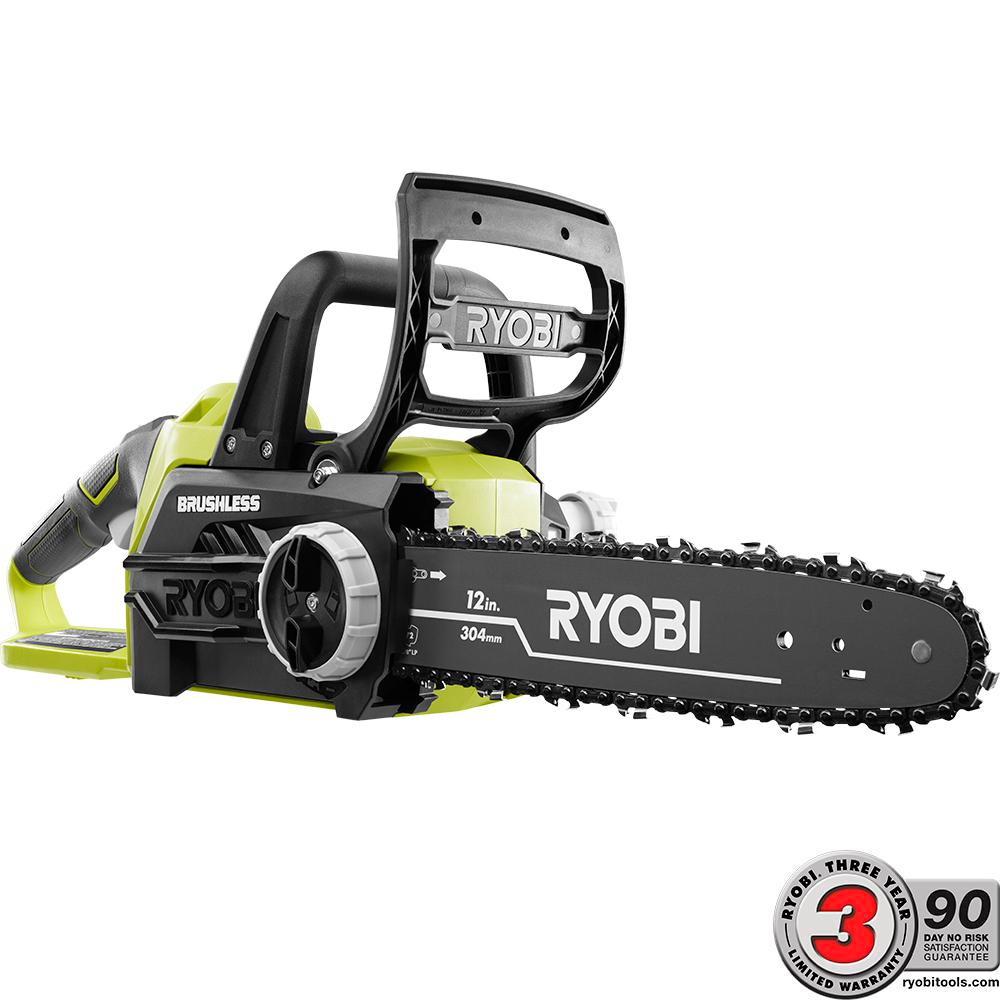Ryobi one 12 in 18 volt brushless lithium ion electric cordless ryobi one 12 in 18 volt brushless lithium ion electric cordless chainsaw keyboard keysfo Gallery