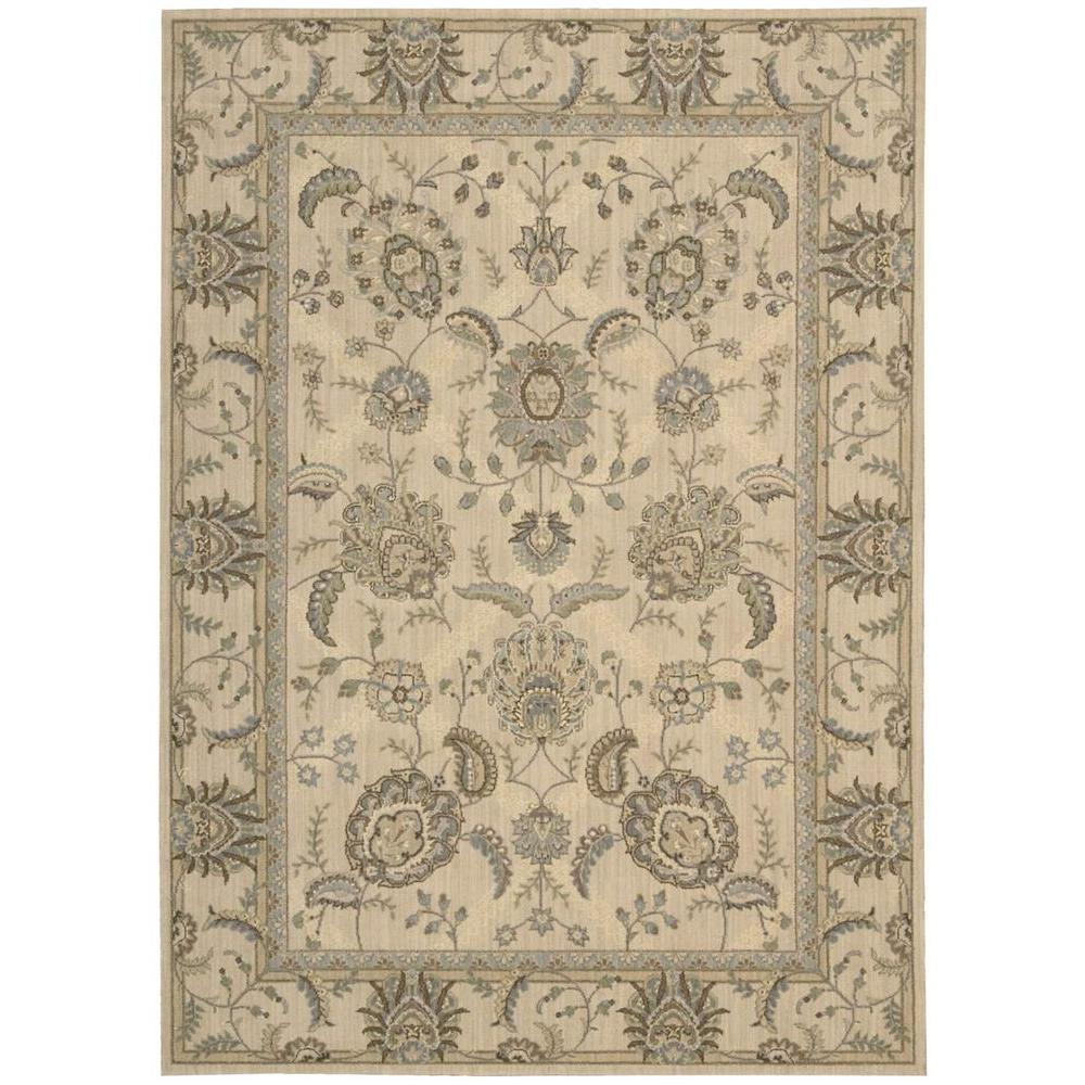 Persian Empire Ivory 7 ft. 9 in. x 10 ft. 10