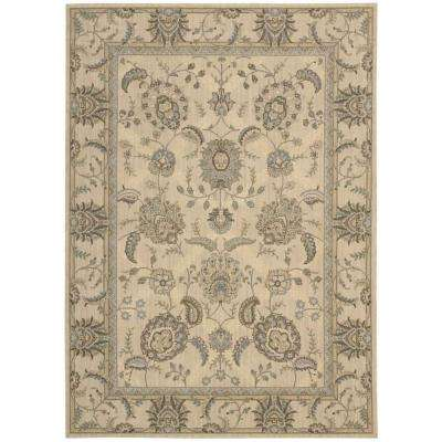 Persian Empire Ivory 8 ft. x 11 ft. Area Rug