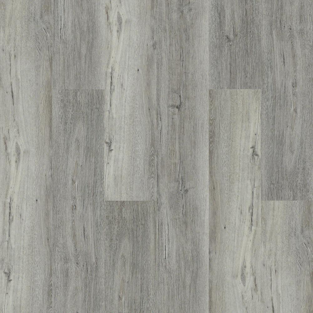 Take Home Sample - Melrose Sidewalk Click Resilient Vinyl Plank Flooring - 5 in. x 7 in.
