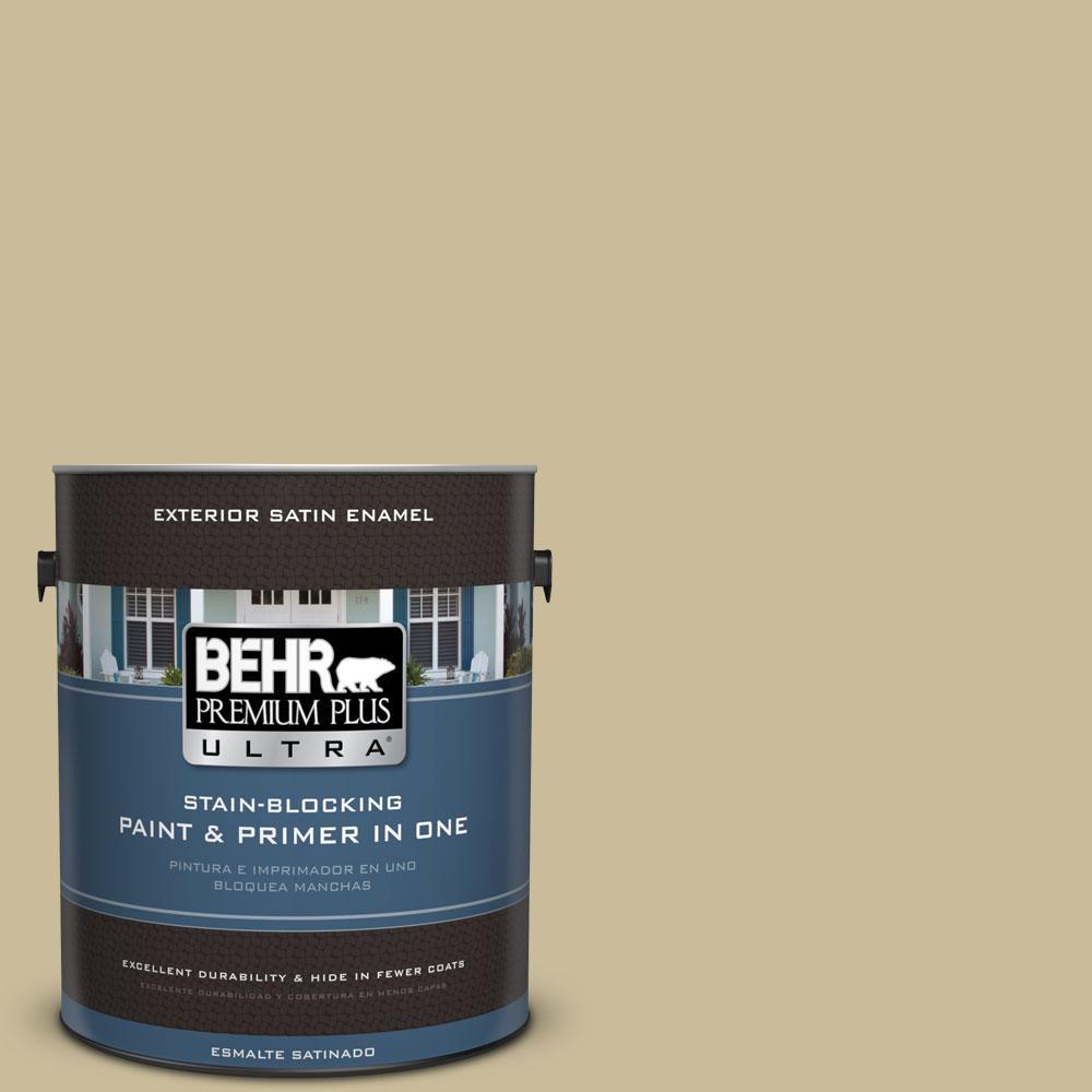 Behr Premium Plus Ultra 1 Gal Ppu8 9 Tea Bag Satin