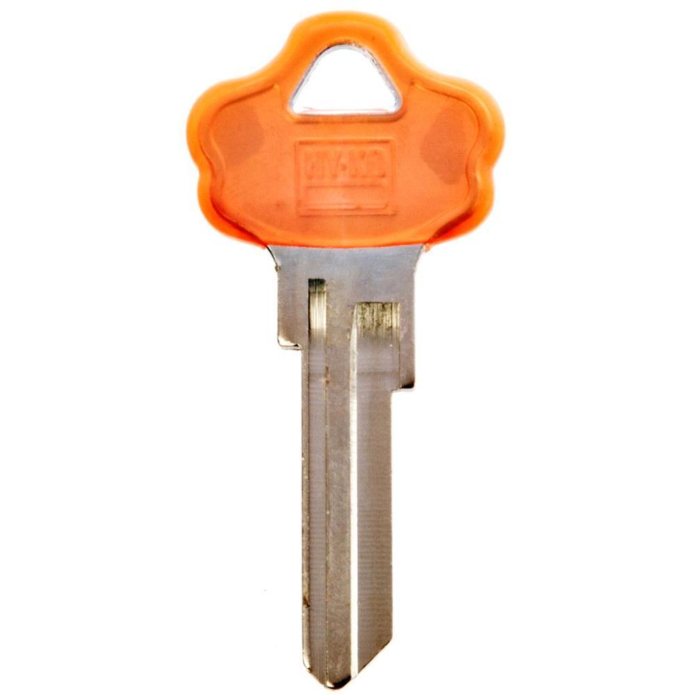 Colorhead Nickel-Plated Brass Kwikset Blank Lock Key Assortment