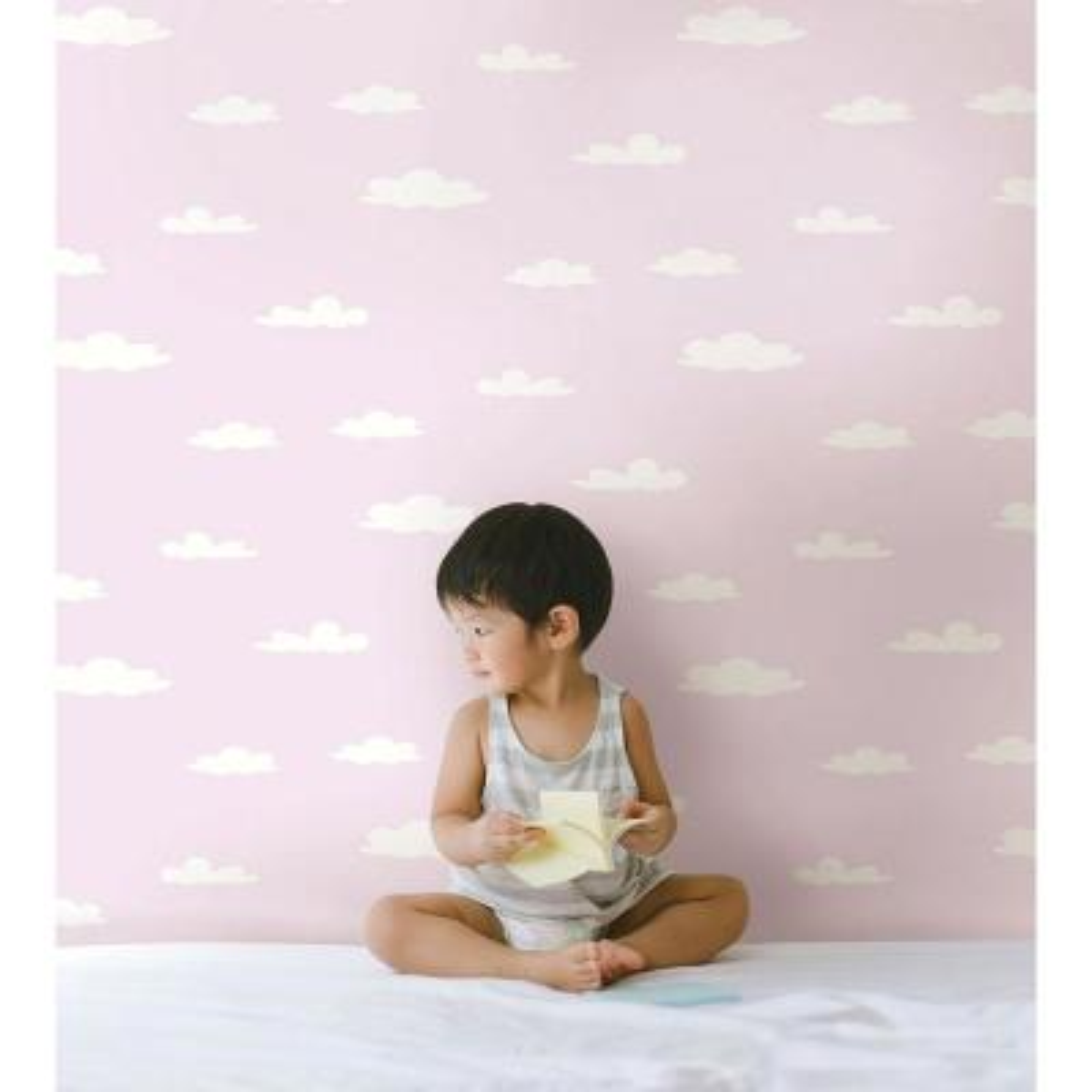 Purple Clouds Wallpaper Sample