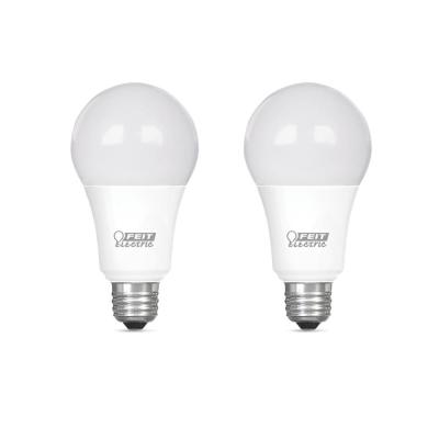 75-Watt Equivalent A19 Dimmable CEC Title 20 Compliant LED ENERGY STAR 90+ CRI Light Bulb, Daylight (2-Pack)