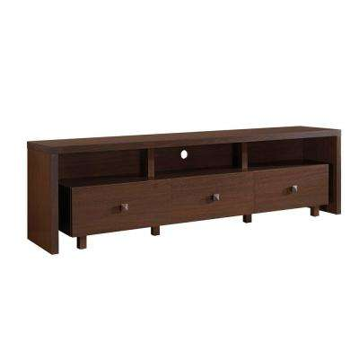 Hickory Elegant TV Stand for TV's Up To 75 in. with Storage