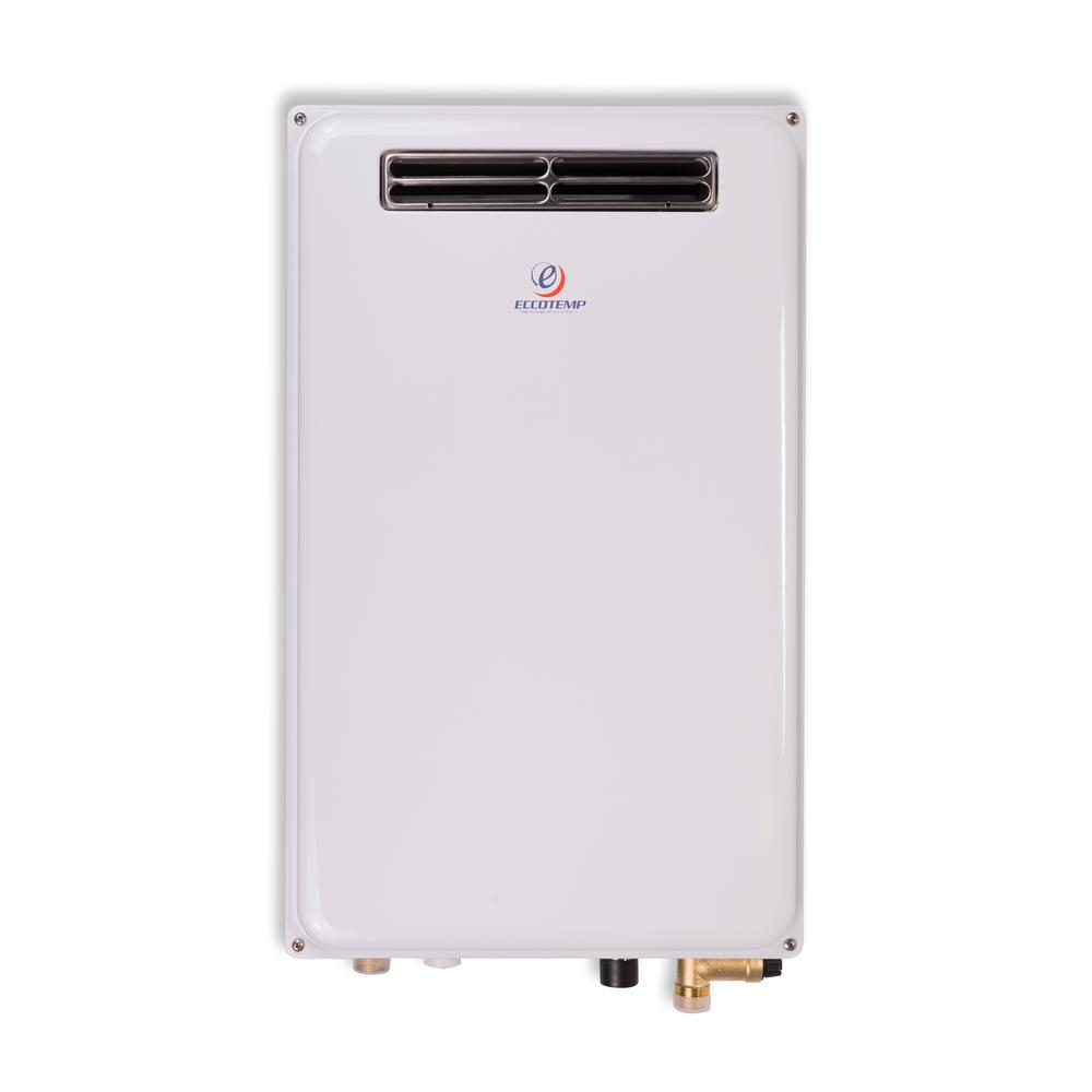 ecosmart 8 kw self modulating gpm electric tankless water heater eco 8 the home depot. Black Bedroom Furniture Sets. Home Design Ideas